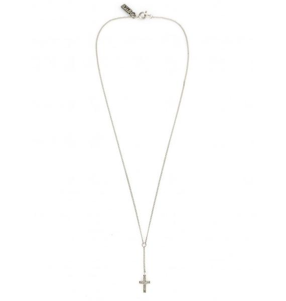Vanessa Mooney Tiny Cross Necklace