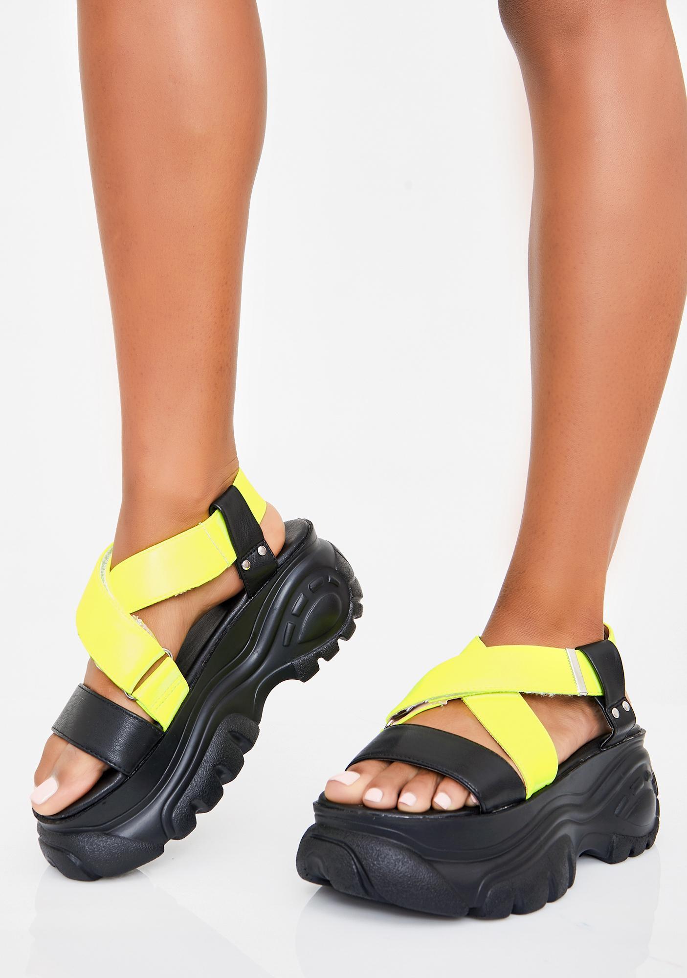 Honey Come Correct Platform Sandals