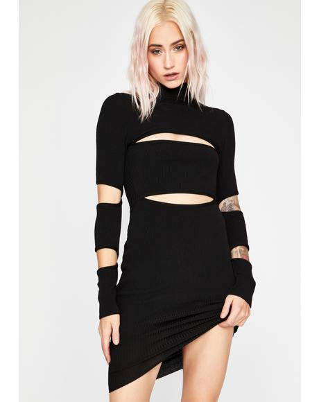 Loathe Me Cut Out Dress