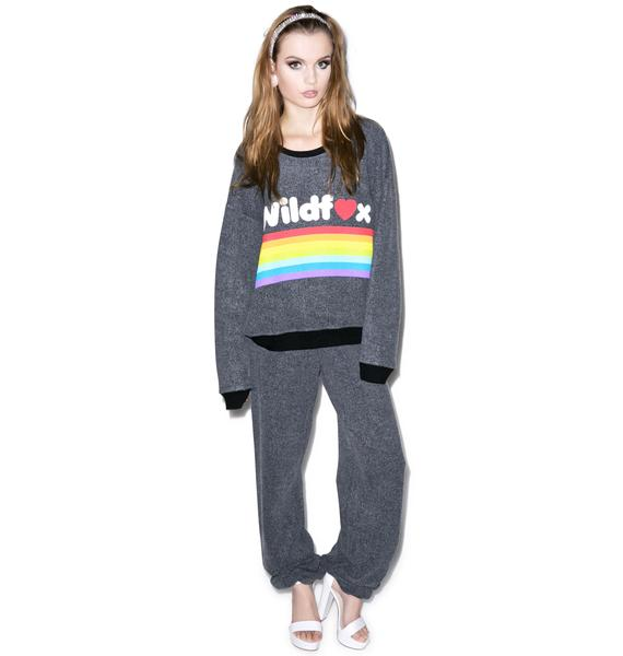 Wildfox Couture Chenille Wildfox P.E. Sweats