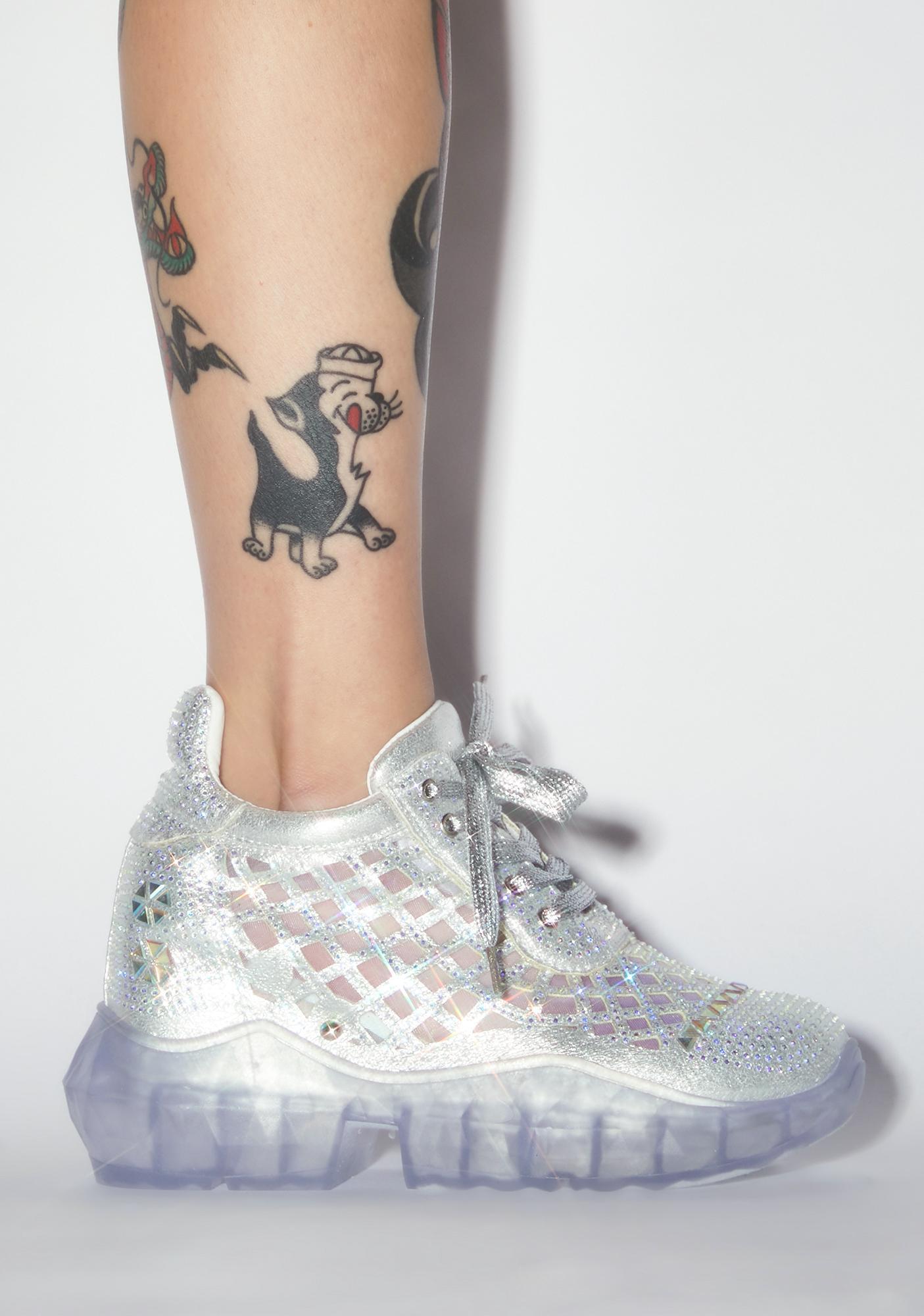 Shook Glimmer Glamour Platform Sneakers