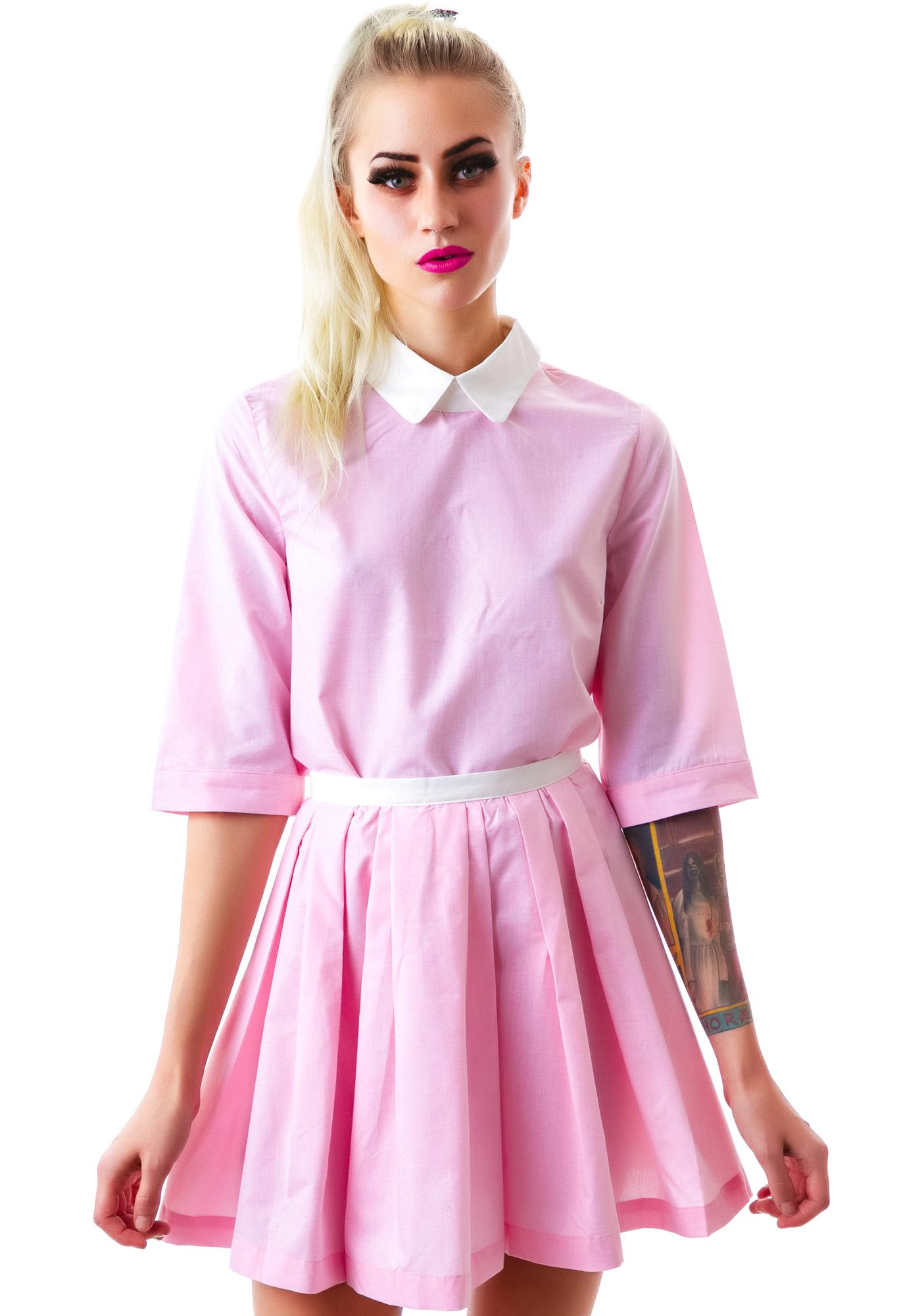Baby Gurl Pleated Skirt