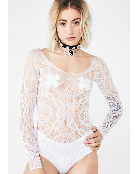 Sun Dancer Crochet Bodysuit