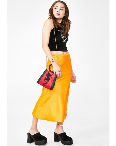 Juiced Mainstream Mami Midi Skirt