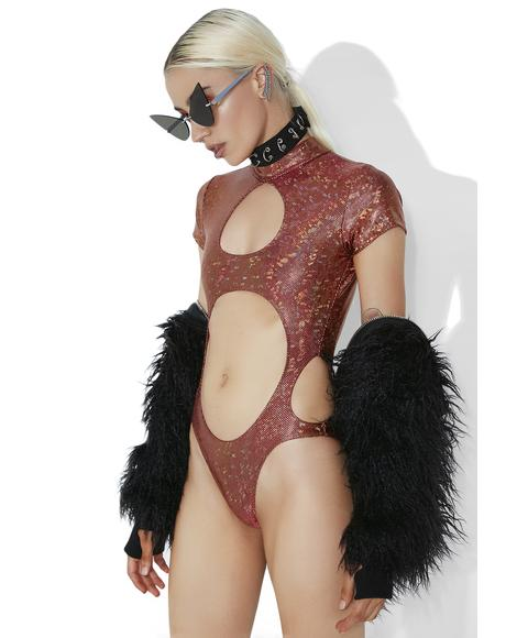 Forbidden Planet Cutout Bodysuit