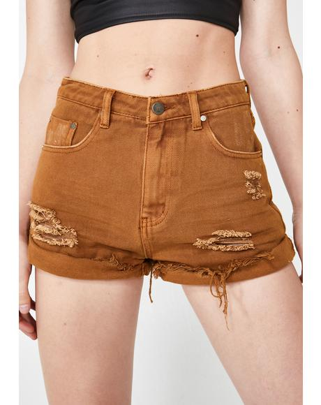 Harsh Realm Denim Shorts