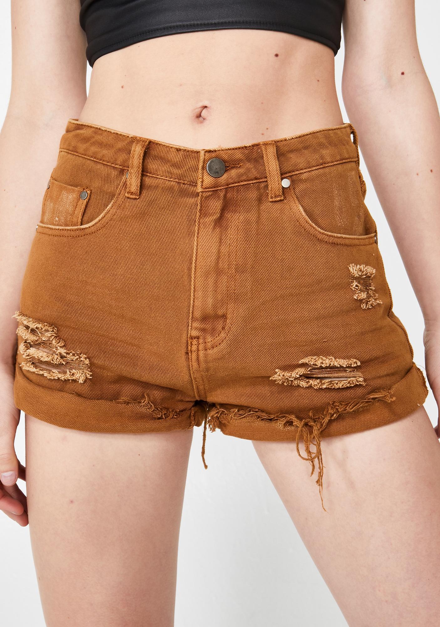 Harsh Realm Denim Shorts