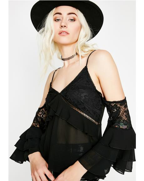 Fancy Feels Lace Top
