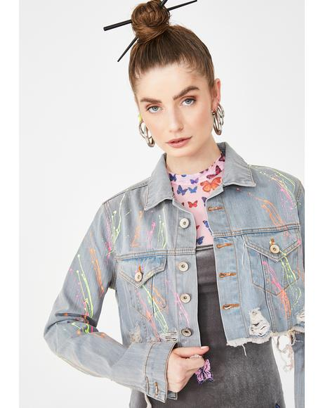 On Blast Denim Jacket