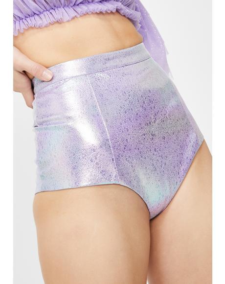 Lowell High Waist Mini Shorts