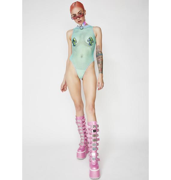 Club Exx Psilocybin Vibin' Bodysuit
