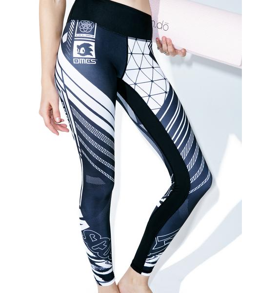 Damascus Ethernet Leggings