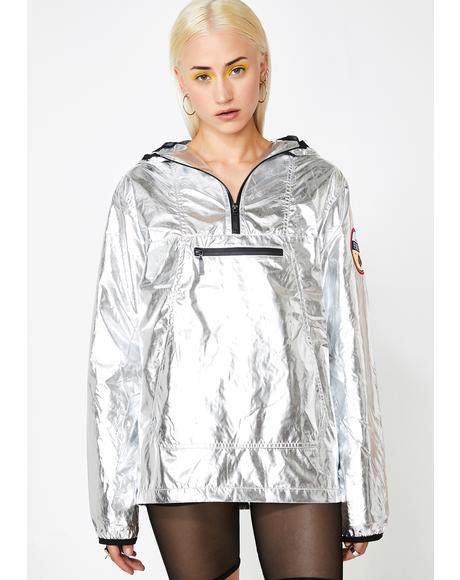 Space Out Metallic Jacket