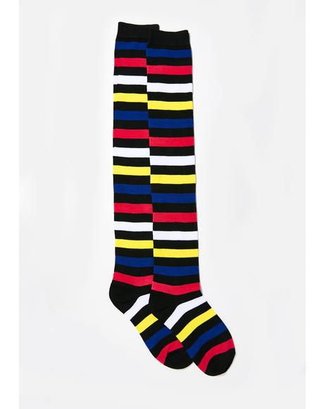 Artsy Life Striped Socks