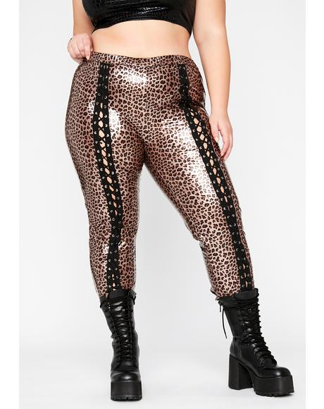 Totally Extreme Empire Lace Up Pants
