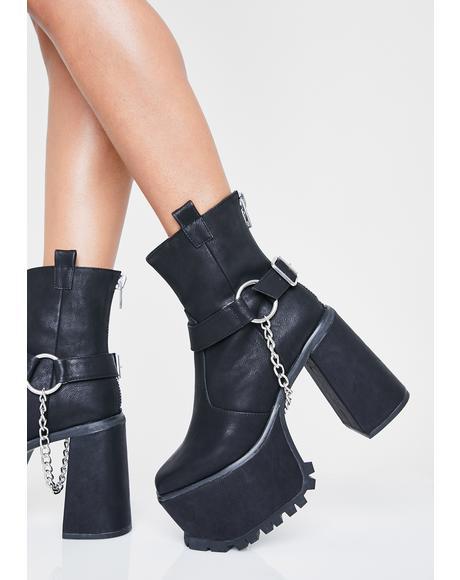 Moto Drip Harness Boots