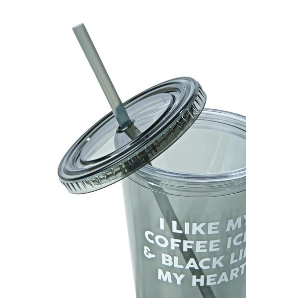 Jac Vanek Cold Hearted Drink Tumbler