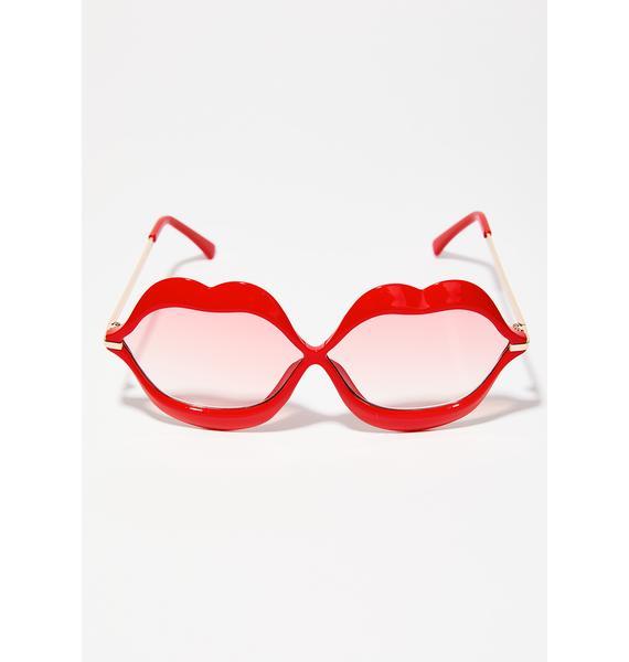 Read My Lips Sunglasses