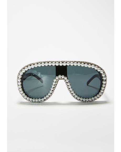 Boujee Brigade Aviator Sunglasses