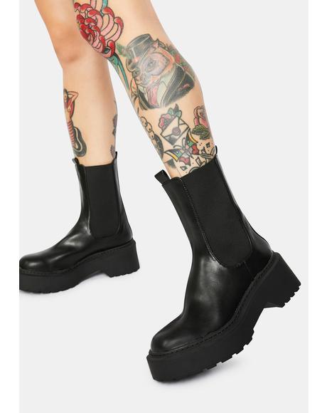 Edie Chelsea Boots