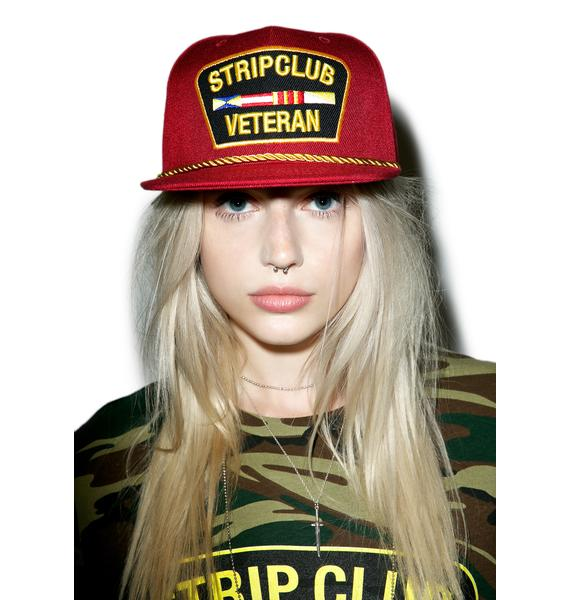 Reason Strip Club Veteran Snapback