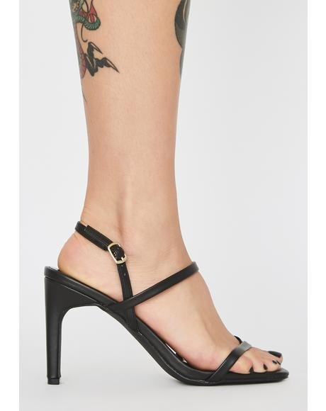 Night Viral Babe Strappy Heels