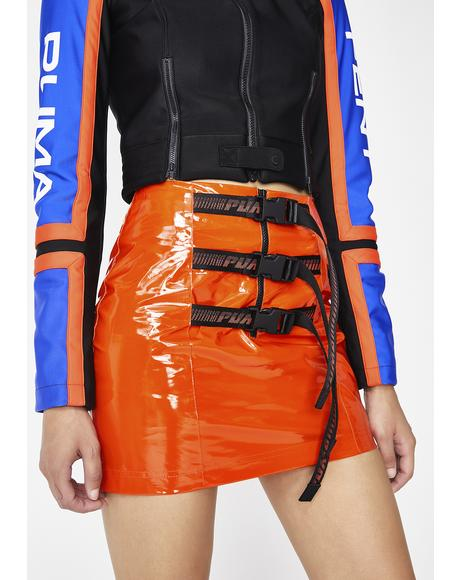 FENTY PUMA By Rihanna Belted Mini Skirt