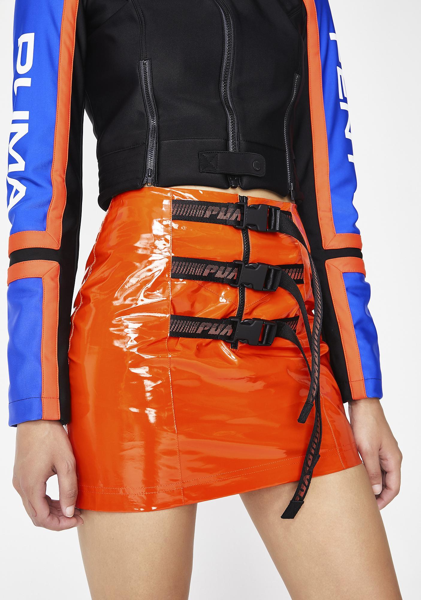 half off fb7a4 974de FENTY PUMA By Rihanna Belted Mini Skirt