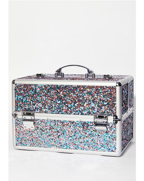 Magical Mermaid Makeup Train Case