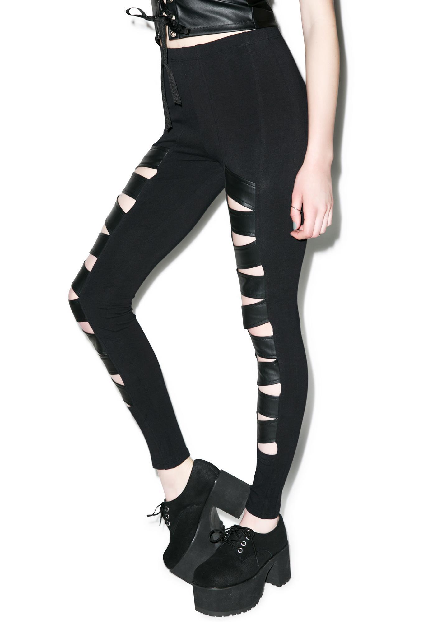 Tripp NYC Z-Cut Leggings