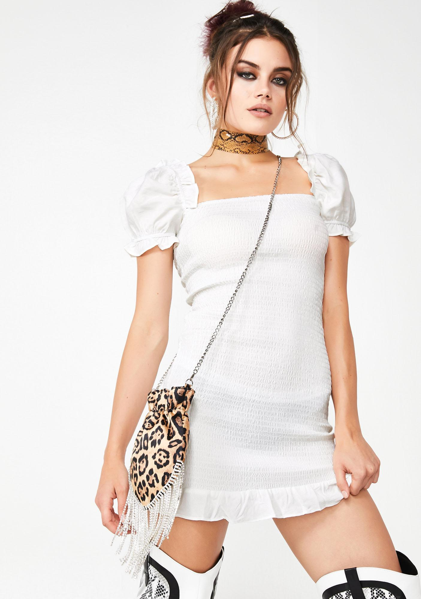 Rare Feelings Ruched Dress