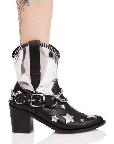 Interstellar Outlaw Cowboy Boots