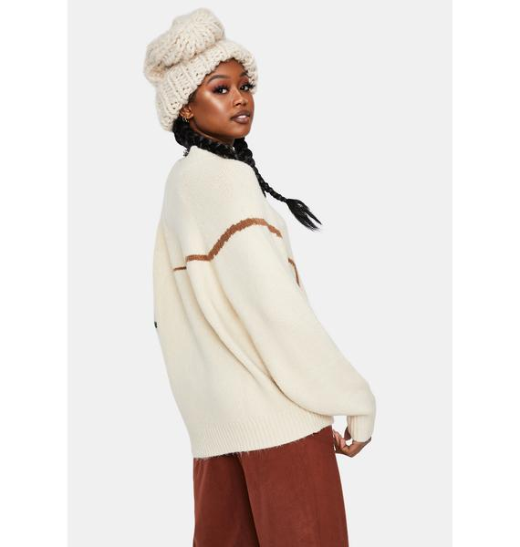 Winter Haze Knit Pullover Sweater