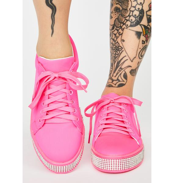 Sugar On The Roxxx Rhinestone Sneakers