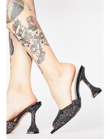Mystic Miss Jetsetter Glitter Heels