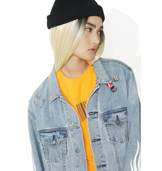 Civil Clothing Girl Code Oversized Denim Jacket