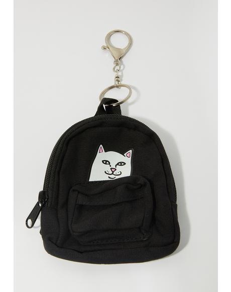 Lord Nermal Mini Backpack Keychain