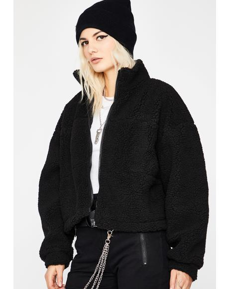 Fluff Up Sherpa Jacket