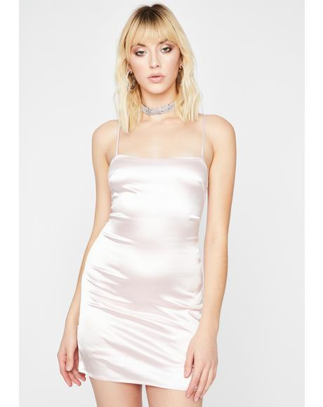 Haute Bish Satin Dress