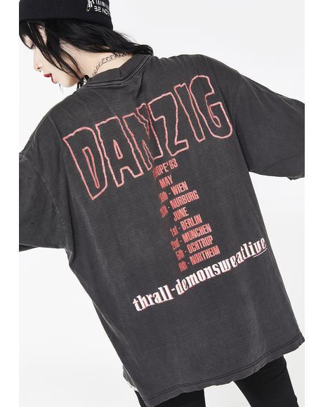 Vintage 92 Danzig Tour Tee