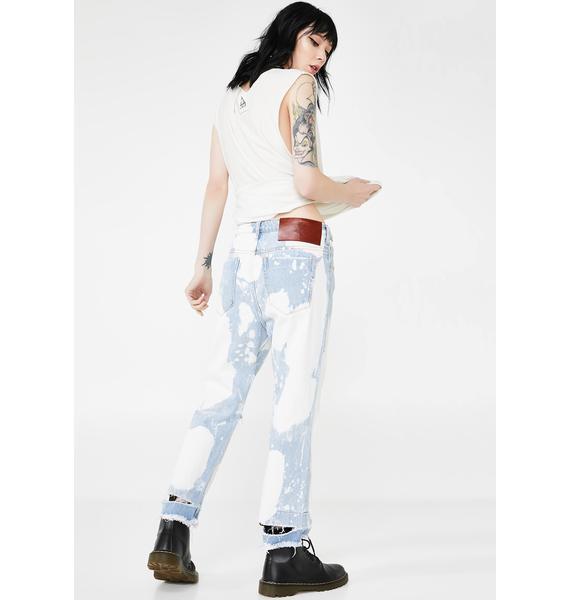 One Teaspoon Sea Drifter Hooligans Low Waist Relaxed Jeans