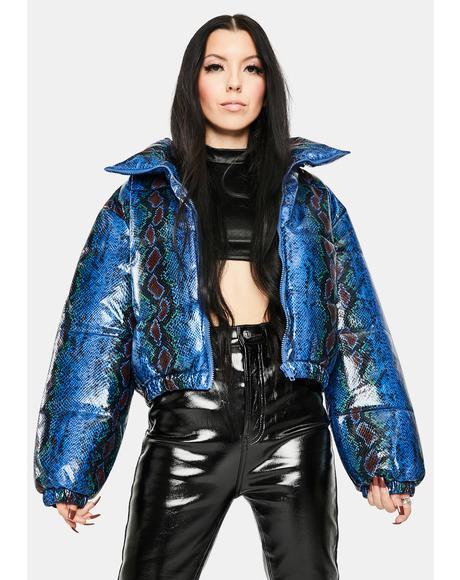 Snake Midtown Puffer Jacket