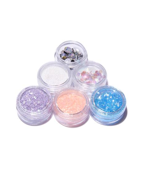 Birds Of Paradise Glitter Set