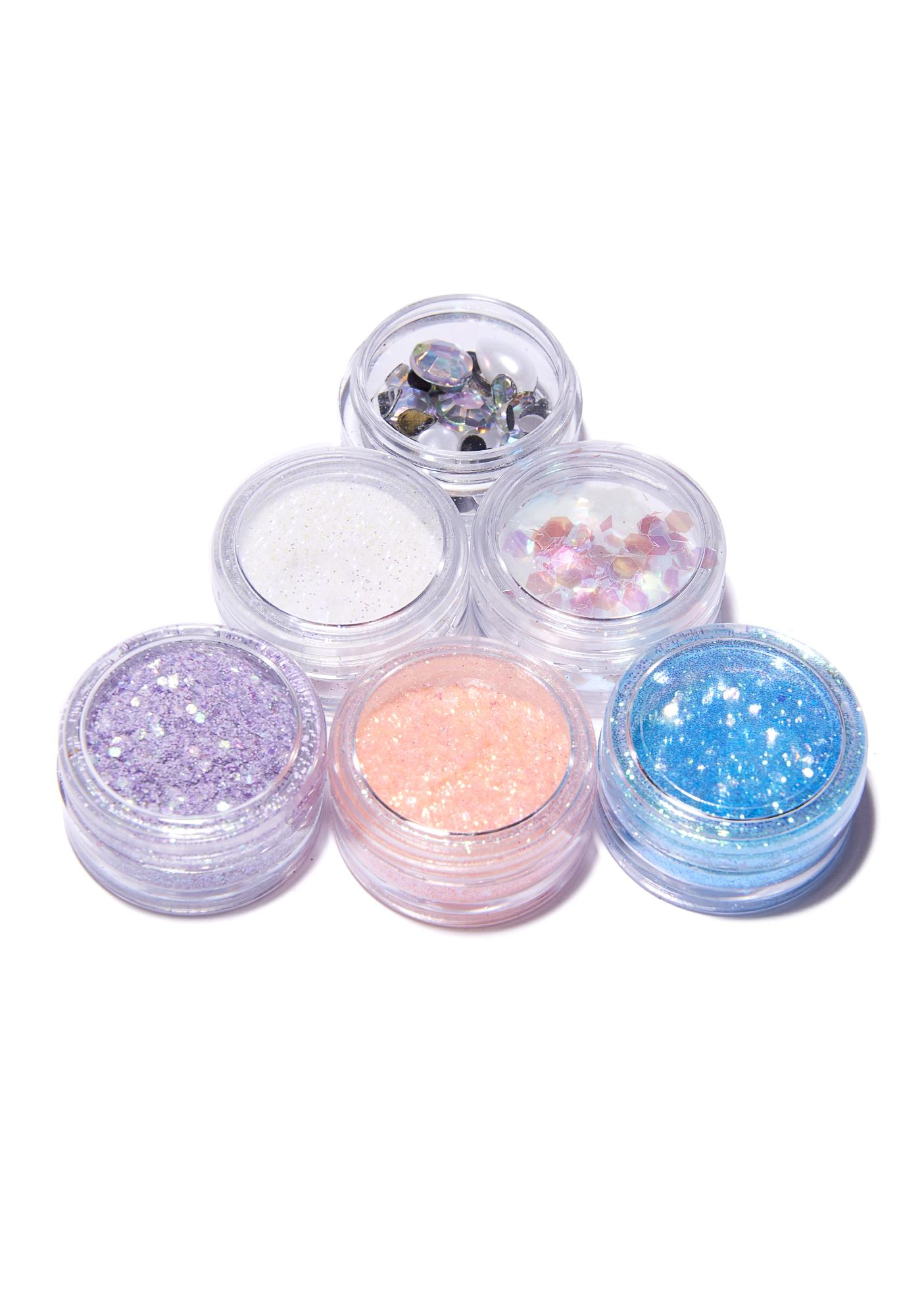 FromNicLove Birds Of Paradise Glitter Set