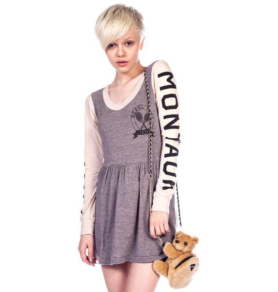 Rebel Yell Montauk Track and Field Mini Dress
