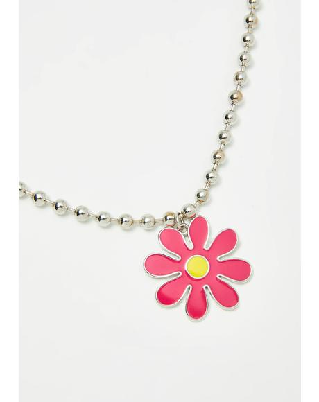 Sassyland Daisy Necklace