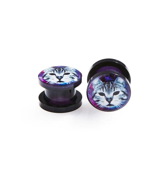 Pussy Cat Screw Fit Plugs