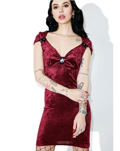 Black Heart Corset Dress