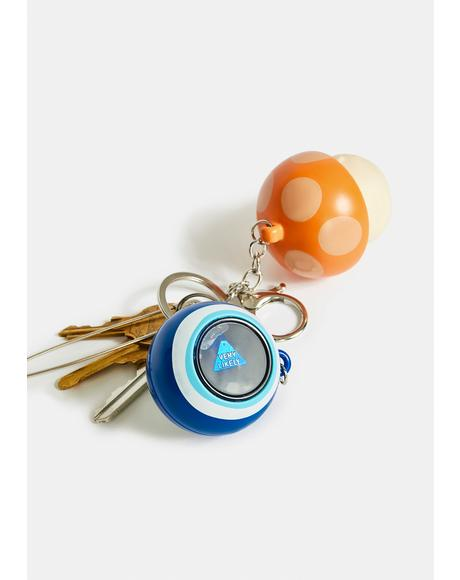 All Seeing Evil Eye Fortune Keychain