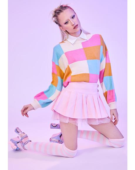 Extra Sweet Colorblock Sweater